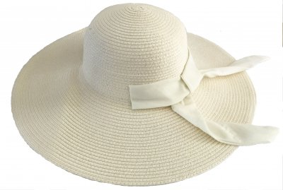 Hatte - Gårda Bellagio Fedora (cream)