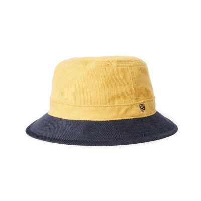Hatte - Brixton B-Shield Bucket (Sunset Yellow/Washed Navy)