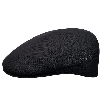 Sixpence / Flat cap - Kangol Tropic 504 Ventair (sort)