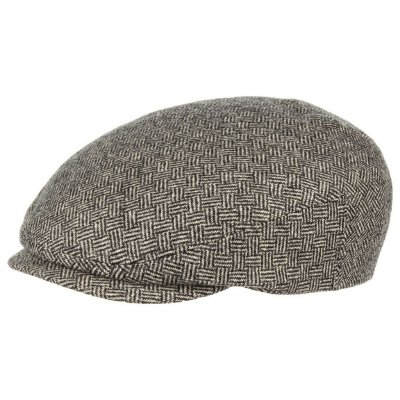 Sixpence / Flat cap - Stetson Woodfield Basket Weave