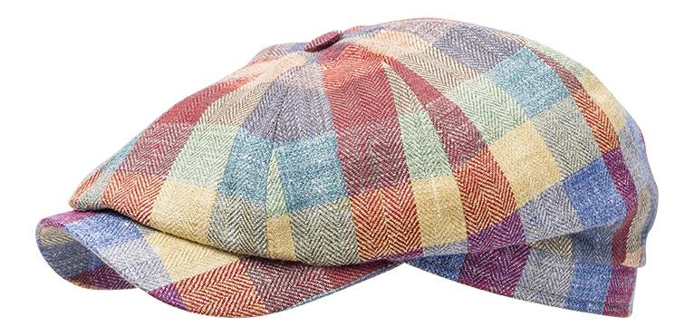 Sixpence   Flat cap - Wigéns Newsboy Classic Cap (multi) - Sixpence ... 9623ee2c862b